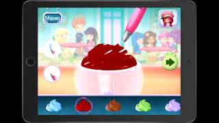 Игра Sweet Shop (Part 1). Готовим различные коктейли и сладости.