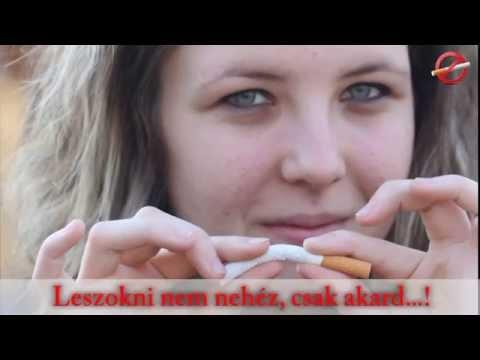 Videó a cigaretta dohányzásából származó betegségről