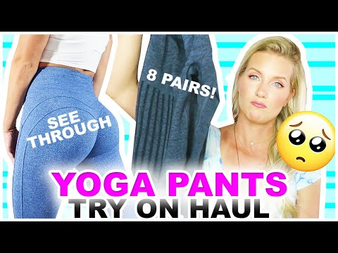 YOGA PANTS TRY ON   WHAT HAPPENED?   8 Pairs From LilaCoco.com