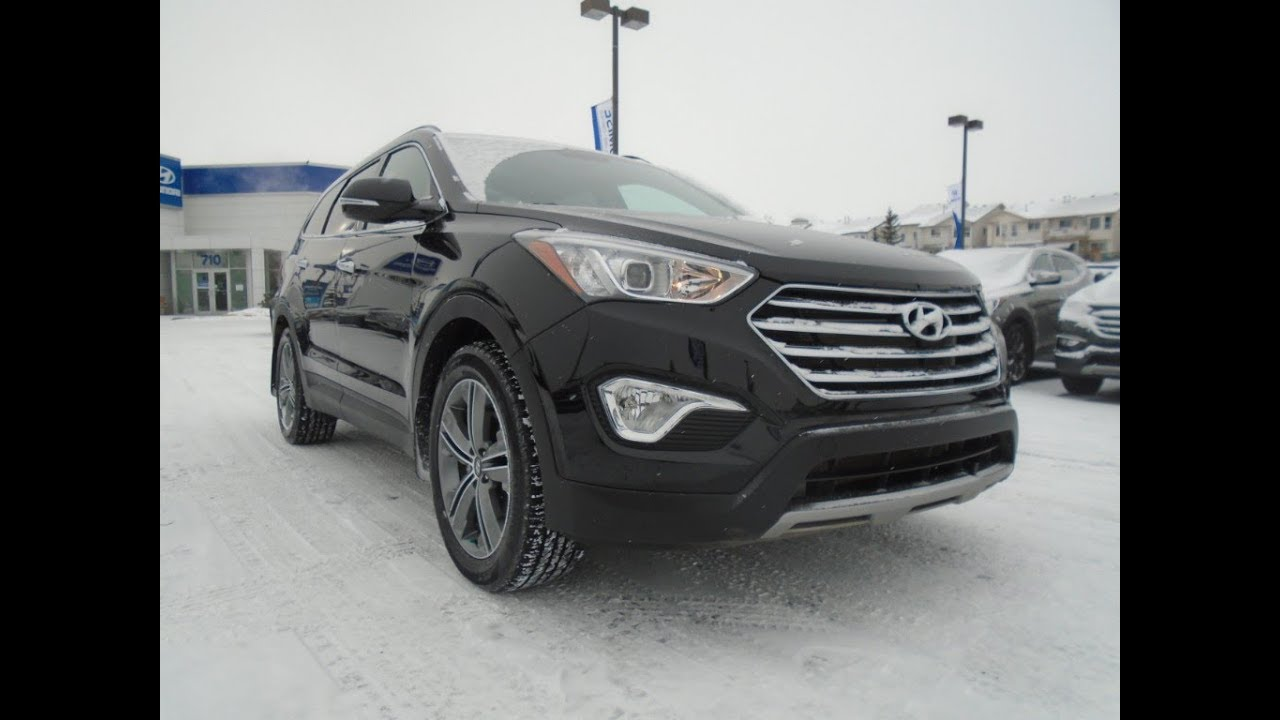 2016 Hyundai Santa Fe Xl Ltd Adventure Edition Crowfoot 1809 063a