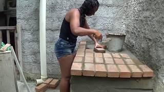 CONSTRUINDO MEU FOGÃO DE LENHA!