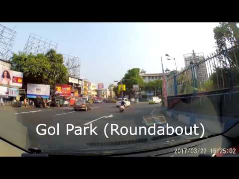 Misc. Roads Of South Kolkata - Dash Cam Video (1080p60fps)