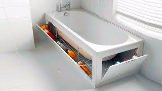 25 Полезных Идей, Как Хранить Вещи В Ванной и Туалетной Комнате