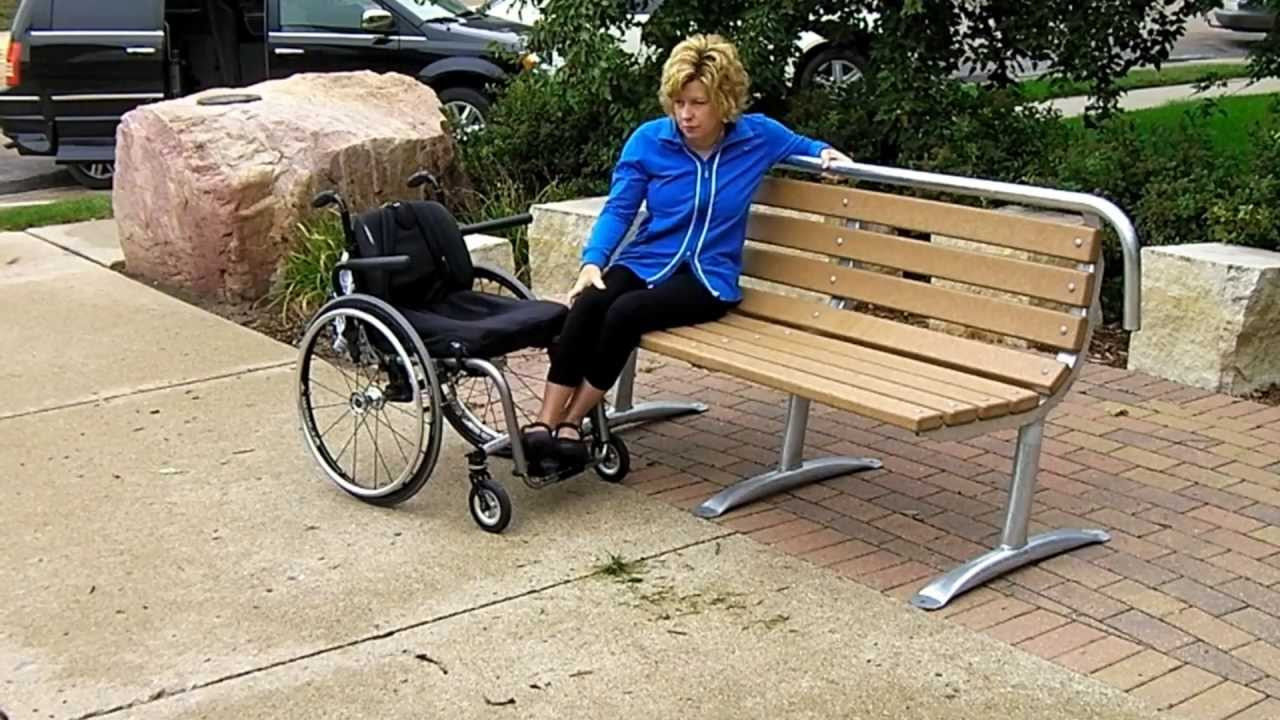Accessible Park Bench Amp Tables Youtube