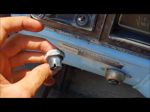 1974 Ford F100 Dash Removal