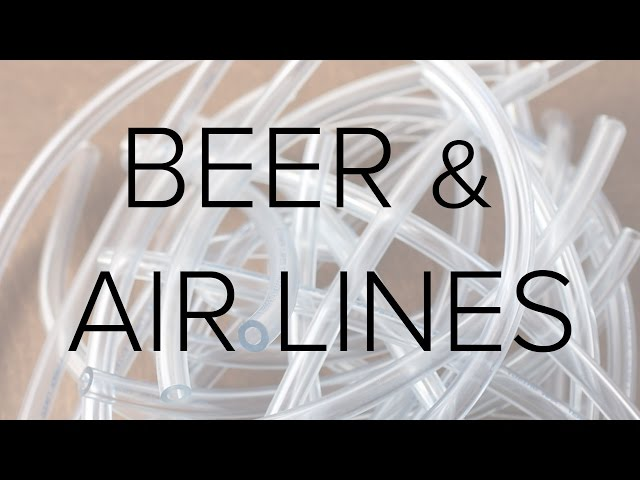 Explaining Draft Beer and Air Lines