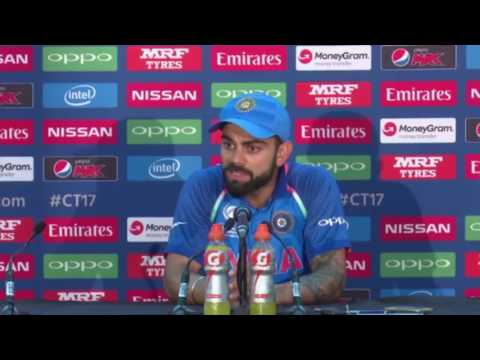 Virat Kohli angry after reporter asks dumb question - Do you feel any pleasure moment in this match?