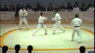 1986年 昭和61年度全日本拳法選手権大会【形演武】