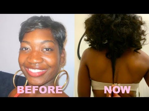 10 Tips How To Grow Long, Thick, Natural Hair Past Shoulders   Retain  Long Healthy Hair   4c Hair