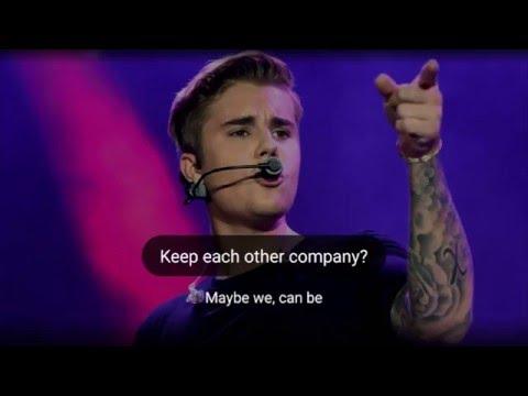 Company lirycs - Justin Bieber