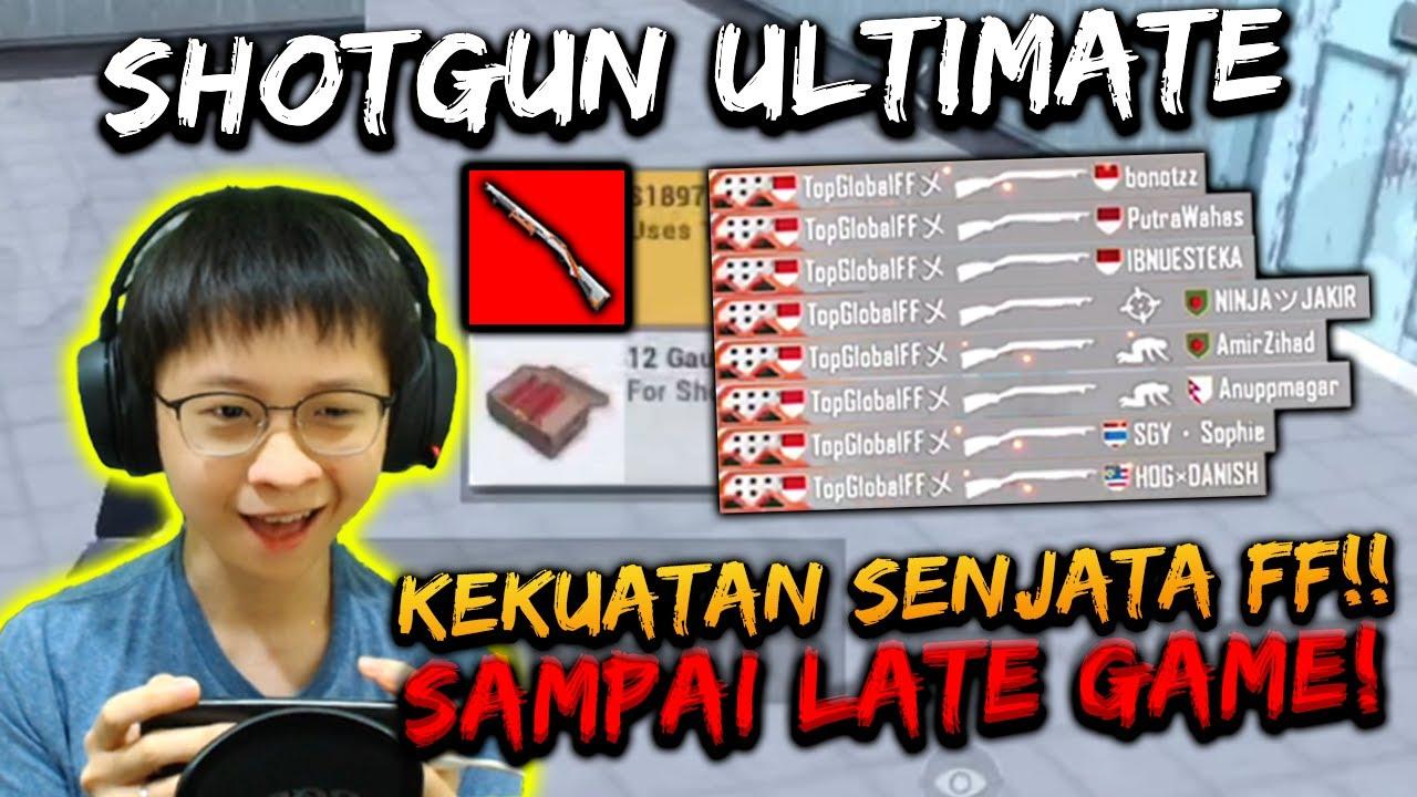 SKIN ULTIMATE SHOTGUN! SKILL FF BOCIL AUTO KELUAR!! SAMPE LATE GAME! | PUBG MOBILE