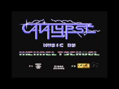 Catalypse (main menu) C64 Sid Chip Music - Michael Tschögl