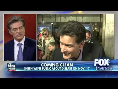 Dr. Oz on shocking revelations about Charlie Sheen
