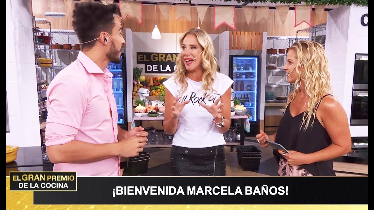 Banos Jurado.El Gran Premio De La Cocina Programa 28 02 19 Jurado Invitada Marcela Banos