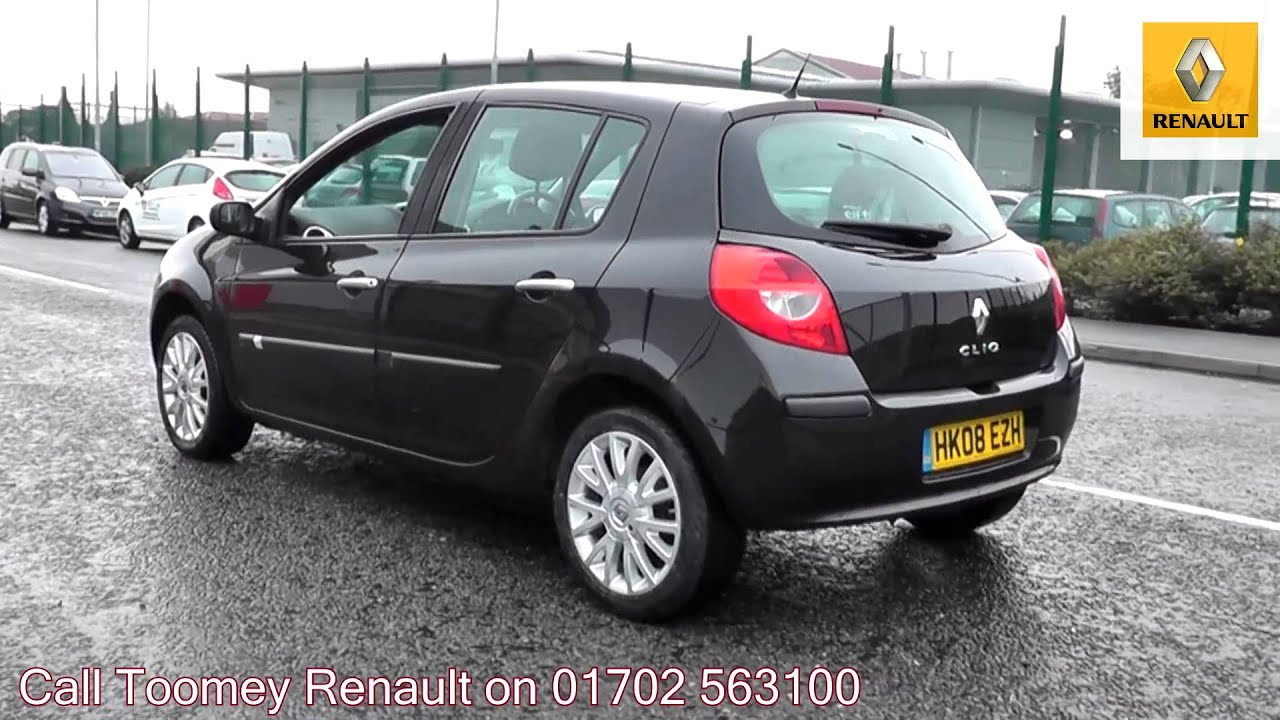 2008 renault clio dynamique eclipse metallic hk08ezh for sale at toomey renault southend. Black Bedroom Furniture Sets. Home Design Ideas