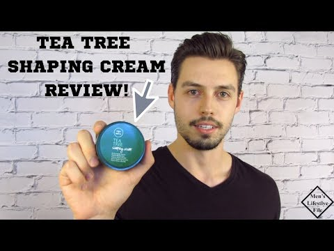 Tea Tree Shaping Cream By Paul Mitchell Review!