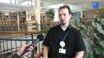 Kirjastoesittelyt: Etelä-Haagan kirjasto