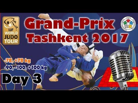 Judo Grand-Prix Tashkent 2017: Day 3