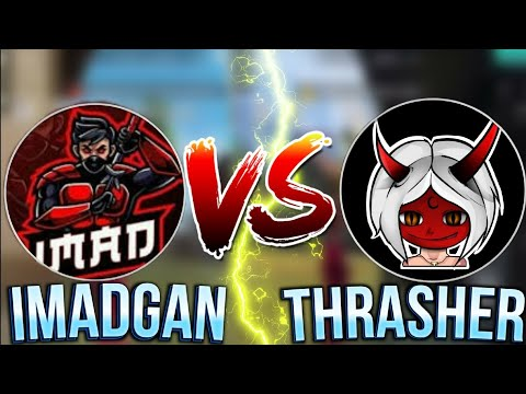 THRASHER VS IMAD GAN | WHO IS THE BEST PLAYER | FREE FIRE