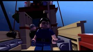 Lego Jurassic World : Easter Eggs E.T and JAWS