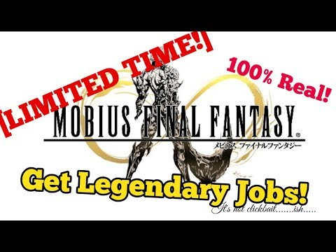 [Limited Time!] Mobius FF - How to get Legendary Jobs - Works 100%!!