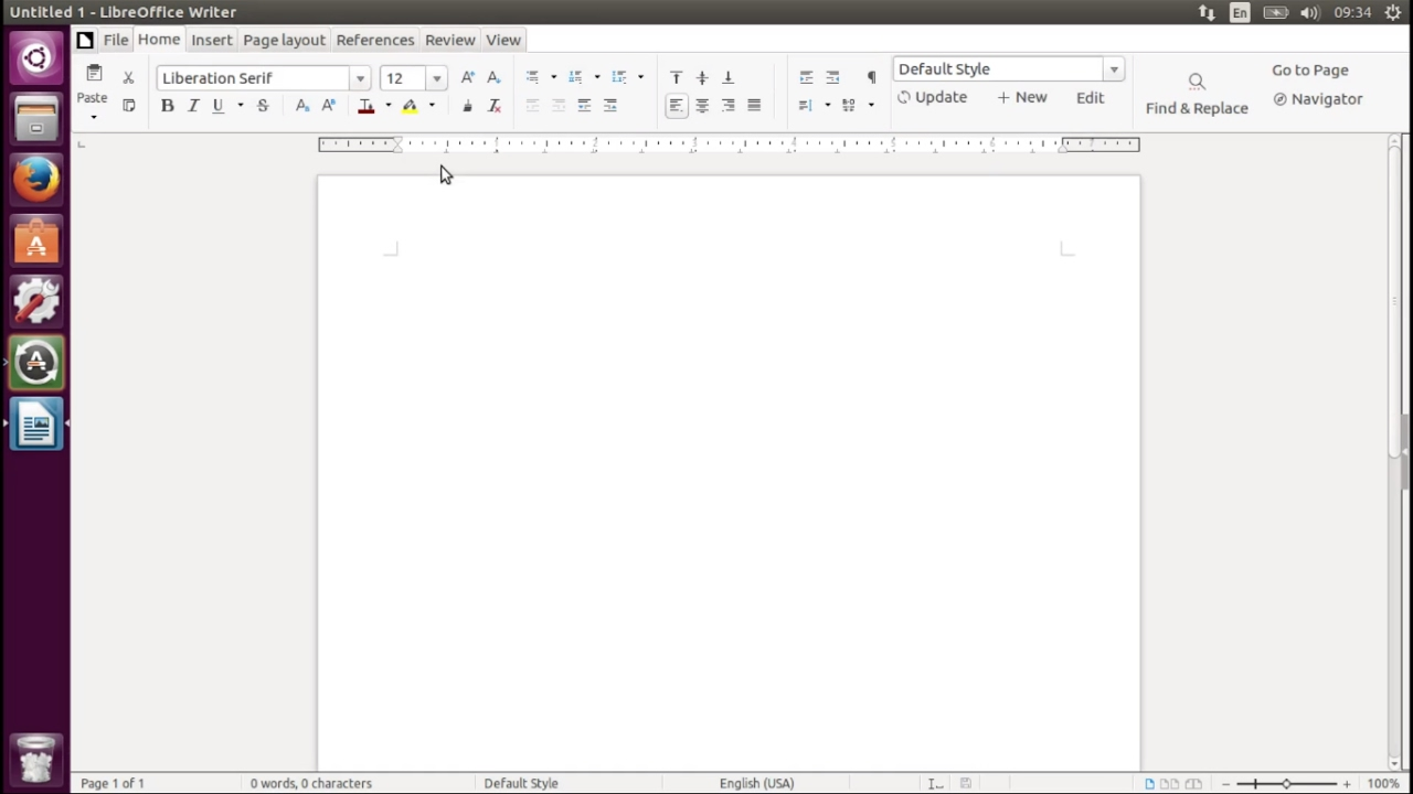 How to Enable a Ribbon, like Microsoft Office, in LibreOffice 5 3