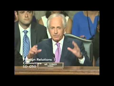 Corker Delivers Opening Statement at First Hearing on Iran Nuclear Deal