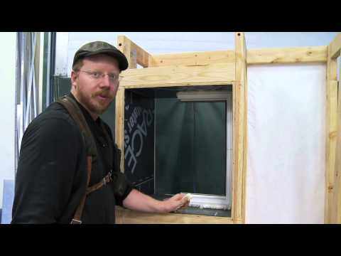 Integrated Truss House - How to install inset windows
