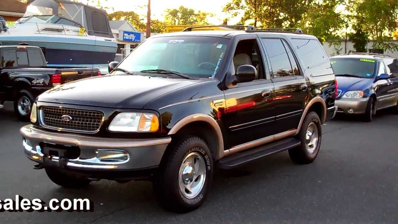 2001 Ford Expedition Eddie Bauer >> 1998 Ford Expedition EDDIE BAUER 4WD 4DR SUV V8 AT - YouTube