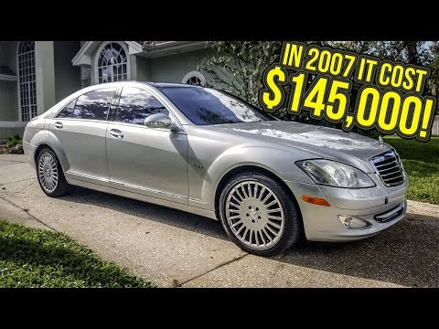 I Just Bought A MINT 600-HP Mercedes-Benz S-Class For $12,000!