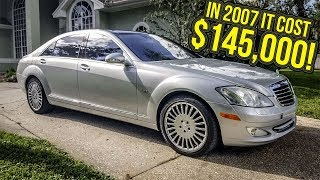 i just bought a mint 600 hp mercedes benz s class for 12 000