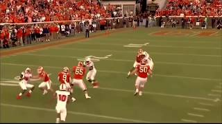 TRAVIS ETIENNE Slow Motion Runs Running Football NCAA Clemson