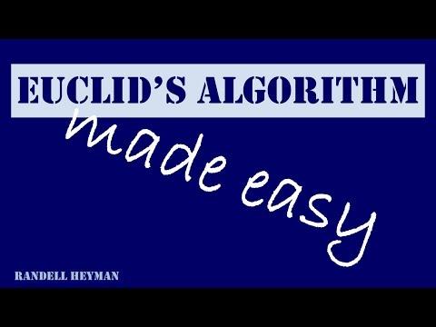 Euclid's algorithm made easy