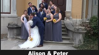Wedding Highlight: Alison & Peter (March 2017)