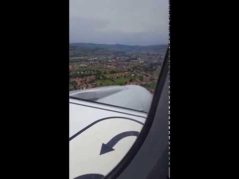 Lufthansa 1730-Airbus A-320  Munich-Sarajevo landing
