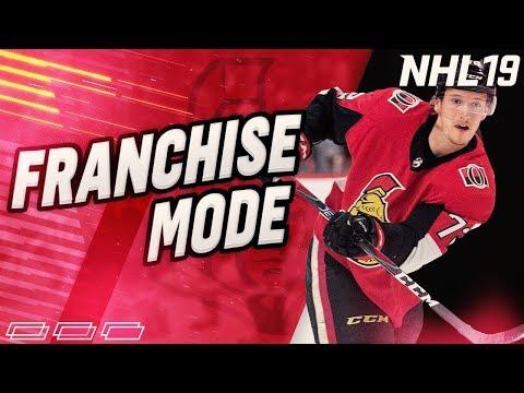"NHL 19 Franchise Mode l Ottawa Senators #17 "" Draft. EPIC FREE AGENCY!"""