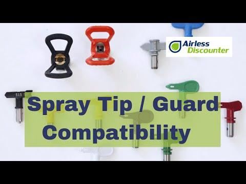 Airless Q&A #21 - Spray Tip / Spray Guard Compatibility