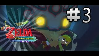 Lets Play Wind Waker HD  | Episode 3 | Sneaking Through the Forsaken Fortress