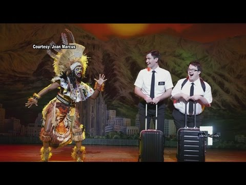 Behind the Scenes with Book of Mormon Lead Gabe Gibbs