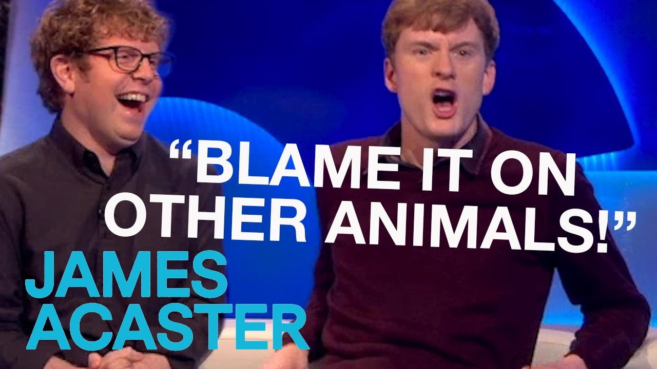 James & The Farting Fish | James Acaster on The Last Leg