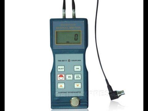 38128d3f8d0 Ultrasonic Glass Thickness Meter Gauge 1.5 - 200mm (www.gainexpress.com)