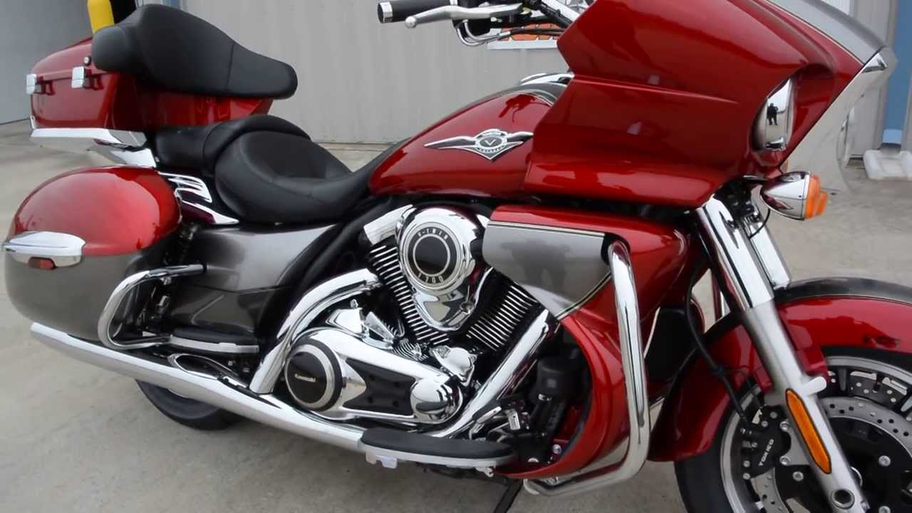 2014 kawasaki vulcan 1700 voyager abs overview and review $19,399