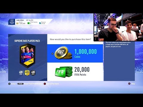 FIFA 19 ONE MILLION COIN PACK!!! Fifa 19 Capture Event Special Pack Opening