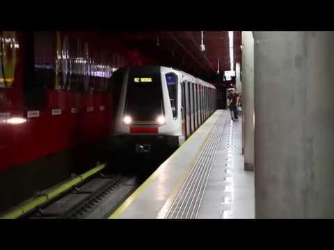 Metro Warszawskie, linia M2 - cała trasa Rondo Daszyńskiego - Trocka