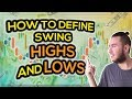 How to Define Swing High's and Low's in the Forex Market (Easy Tutorial)