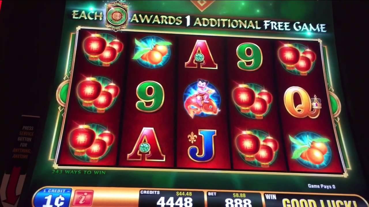 Fo Dao Le Slot Machine Max Bet Huge Wins and Bonus - YouTube
