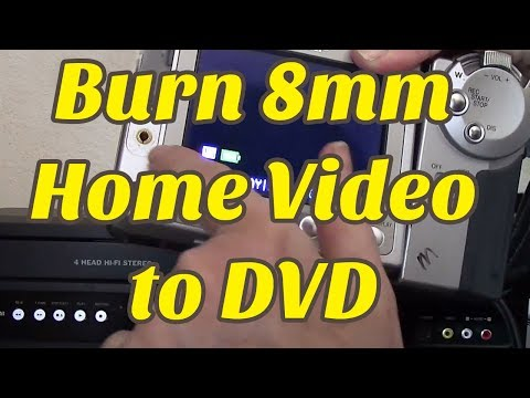 How to Convert 8mm Video to DVD (DIY)