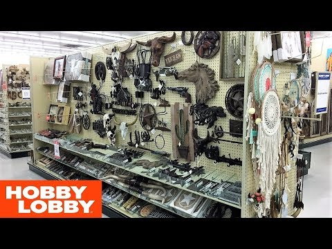 HOBBY LOBBY COUNTRY WESTERN NATIVE AMERICAN HOME DECOR SHOP WITH ME SHOPPING STORE WALK THROUGH 4K