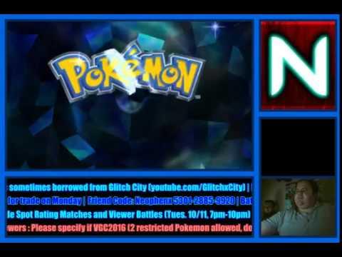 (10/7/2016-A) Pokemon Training and Battling with Hurricane Matthew