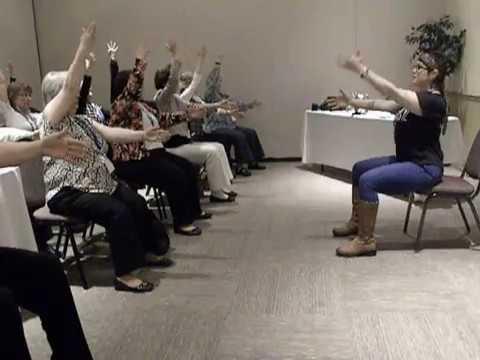 Easy chair yoga moves
